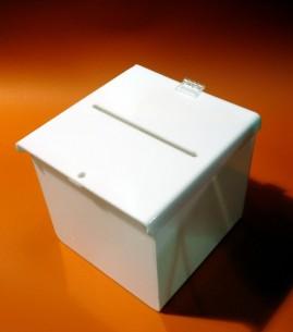 urna de color con bisagra