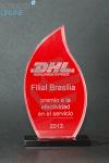 PREMIO DE ACRILICO DHL
